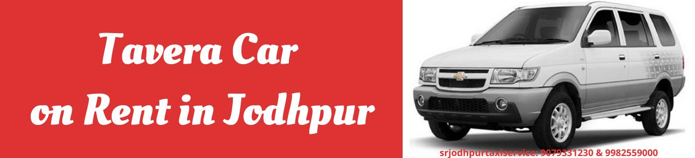 Tavera Car on Rent in Jodhpur