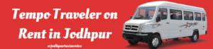 Tempo Traveler on Rent in Jodhpur