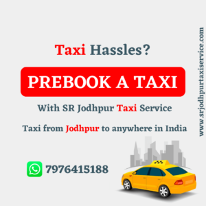 Pre Book A Taxi For Outstation In Jodhpur