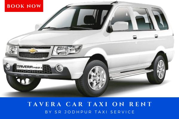 Book tavera car taxi on rent with sr jodhpur taxi service which is best taxi service in jodhpur